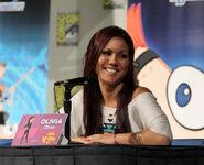 Olivia at Comic Con 2011