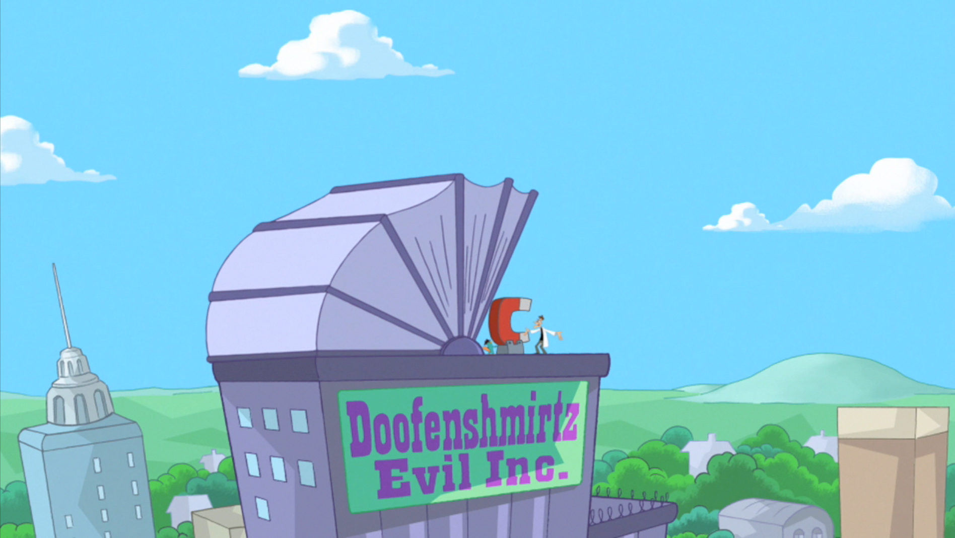 Image Retractable Roof Jpg Phineas And Ferb Wiki