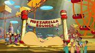 Mozzarella bounce