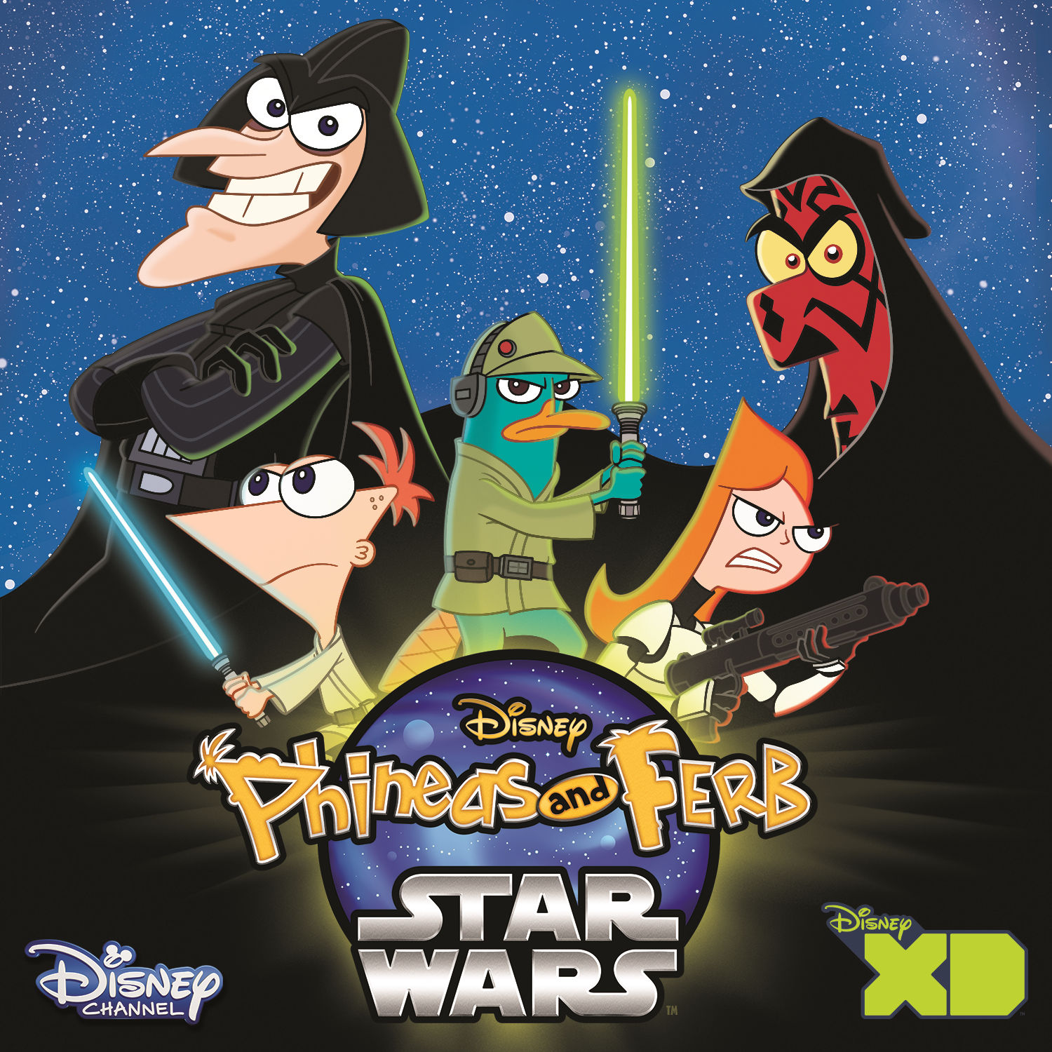Phineas and Ferb Star Wars (Music from the TV Series) - EP ...
