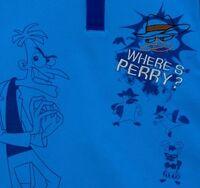 Where's Perry blue polo shirt