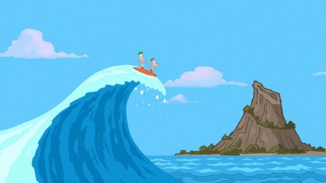 File:Surfing Tidal Waves.jpg