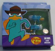 Disney Store Perry-shaped ear buds