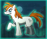 Doctor Doofenshmirtz pony, by Foxbeast