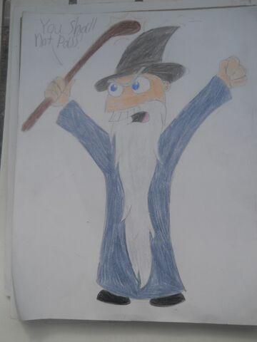 File:MM as Gandalf, by FossilsDaDaDa.jpg