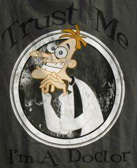 Trust Me, I'm A Doctor t-shirt