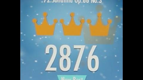Piano Tiles 2 Sonatina Op 88 No 3 (Kuhlau) High Score 2876 Piano Tiles 2 Song 72