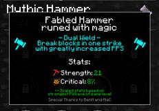Mythic Hammer