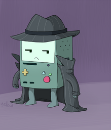 Private inspector bmo by yellowbooze-d5a7xzo