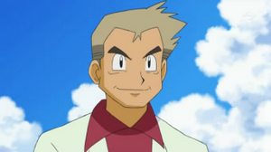 Professor Oak anime