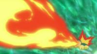 Cyndaquil Flamethrower