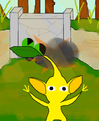 File:Yellow Pikmin Encounter.png