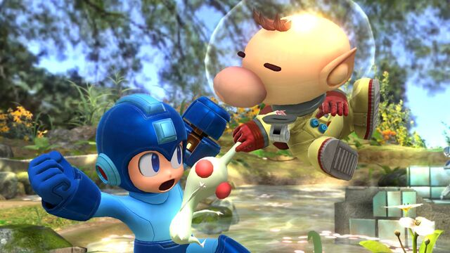 File:Olimar and Pikmin Smash pic 1.jpg