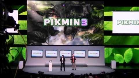E3 12 Nintendo's show Prt 1- Pikmin 3