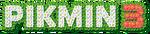 Pikmin 3 logo (red)