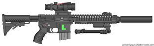 Lazah Firearms LAR-15 DMR