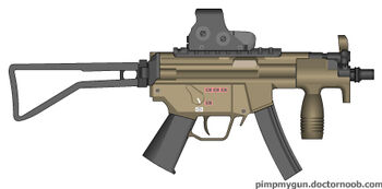 MP5 Paratrooper