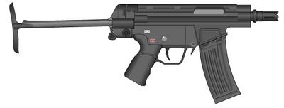 TACTICAL HK G53 open