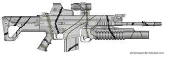 K-214 Arctic Combat Rifle