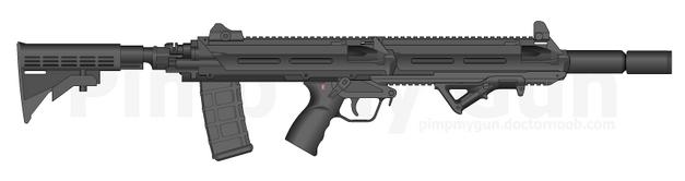 ARGON Stealth Rifle