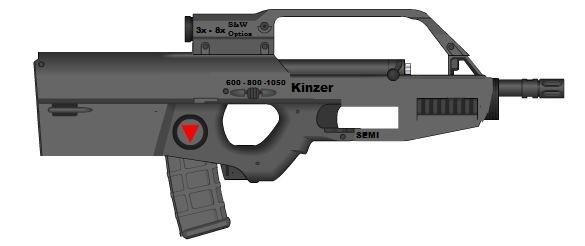E-BAR Mark 2 Assault Version