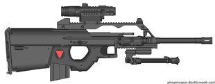 Valkryie Industries E-BAR sniper config