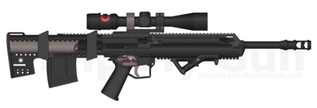 M139 Blazer Bullpup Sniper Rifle