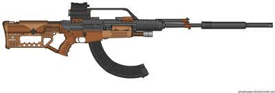 Ex-mag I36 marksman rifle