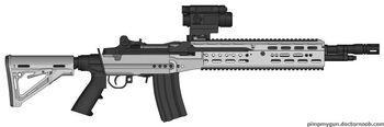 K-86 Arctic Scout Rifle
