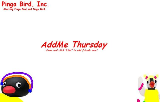 File:The AddMe Thursday.JPG