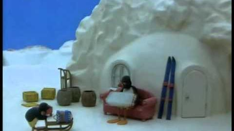 017 Pingu Has Music Lessons From His Grandfather