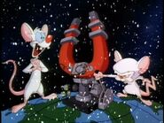 A Pinky and the Brain Christmas opening