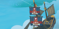 Marleybone Ship (Port Regal skyway)