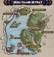 (Map) Skull Island Skyway