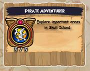 Badge-Pirate Adventurer