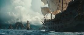 Monarch and Dutch barque
