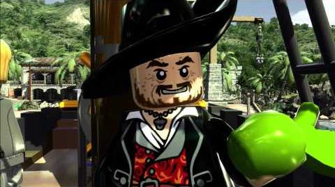 The Curse of the Black Pearl gameplay trailer -- LEGO Pirates of the Caribbean The Video Game