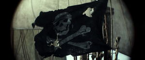 Wicked Wench pirate flag