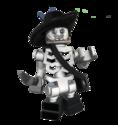 LEGO Barbossa skeleton