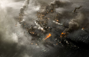 Silent Mary vs pirate fleet