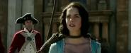 Carina on the gallows