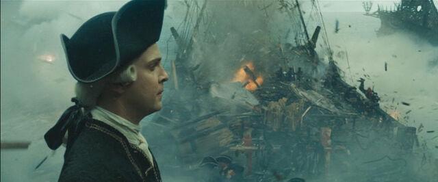 File:The HMS Endavour during its destruction.jpg