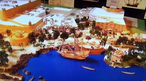 Shanghai Disneyland Treasure Cove Harbor Details - First Pirate Themed Land in Disney Park, D23 Expo