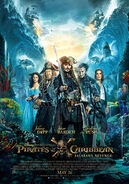 Pirates of the Caribbean Salazar's Revenge (UK) Poster 2