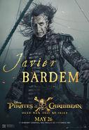 Javier Bardem POTC5 poster