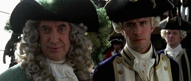 File:Norrington et Weatherby Swan écoutant Sparrow.JPG