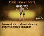 F Linen Shorts variations