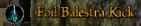 Foil Balestra Kick