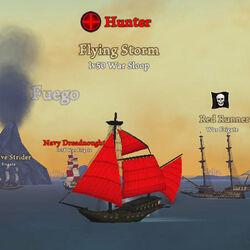 Hunter Flying Storm 4