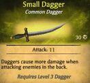 Small Dagger